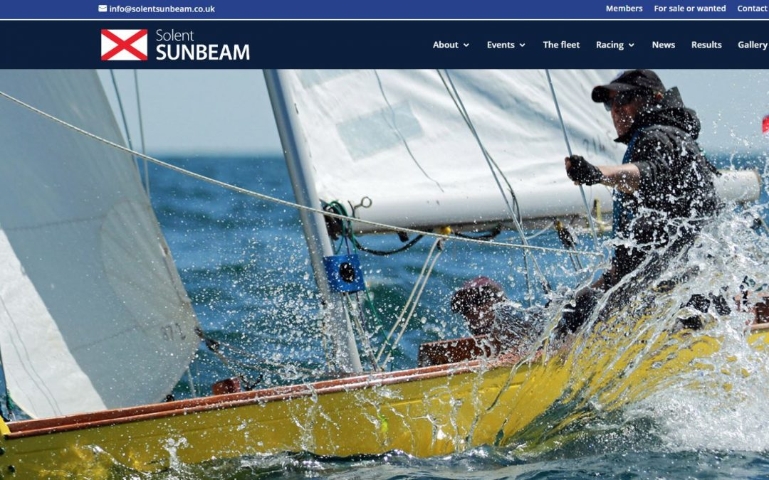 New Sunbeam website