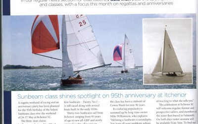 Recent coverage of our anniversary in the yachting press