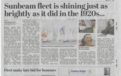 Interview with Peter Nicholson: article in the Chichester Observer, 25 October 2018