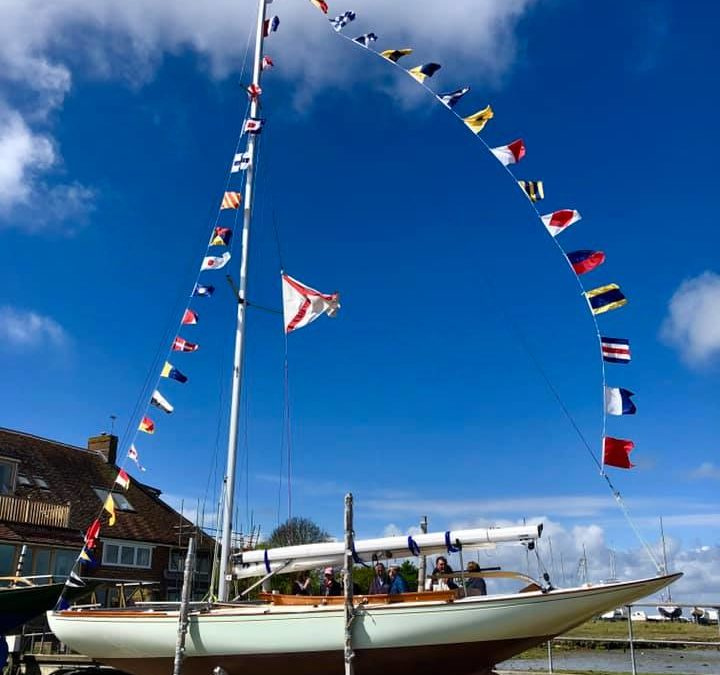Brand new Sunbeam launched to join 96-year-old fleet at Itchenor